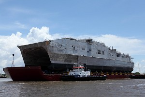 Austal Delivers Expeditionary Fast Transport 6 to US Navy