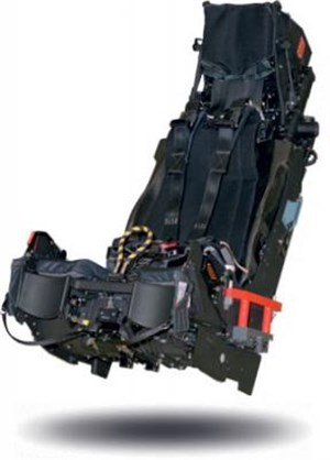 250th Rafale ejection seat produced by Safran/Martin Baker JV, SEMMB