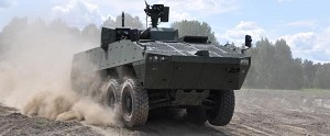 Patria AMV vehicle selected by the UAE