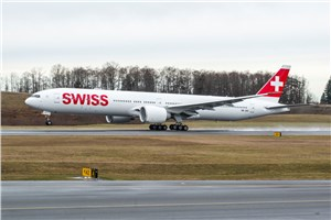 Boeing, SWISS Celebrate Delivery of Airline's 1st 777-300ER