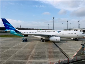 Avolon Delivers One Airbus A330-300 to Garuda Indonesia