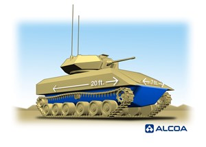 Alcoa Awarded up to $50 M from US Army to Advance Combat Vehicles