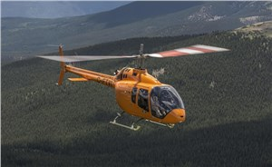 Bell 505 Jet Ranger X Moves Forward with Velocity