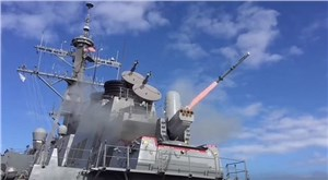 USS Porter Conducts 1st SeaRAM Firing from DDG