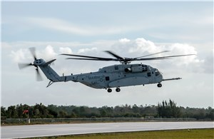 2nd CH-53K Helicopter Joins Flight Test Program