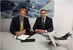 Embraer Defense & Security selects Rheinmetall Germany as tranining devices provider for the KC-390 Program