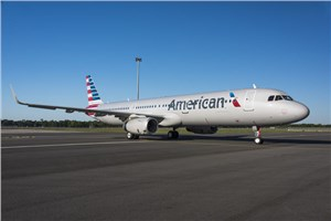 1st US-built American Airlines A321 Exits Paint Shop