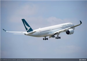 Cathay Pacific Airways signs A350 XWB FHS Components Support Agreement with Airbus
