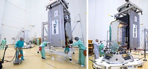 Payload Integration Begins for Next Soyuz Mission With Galileo Spacecraft