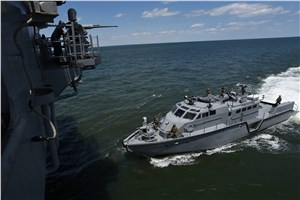 Bataan Trains with New Mark VI Patrol Boats