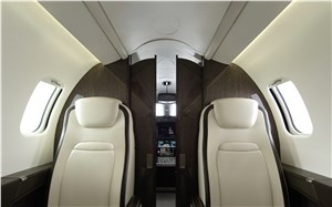 Bombardier Launches New Interior on Learjet 75 Business Jet With Quietest Cabin and Increased Comfort