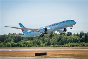 GECAS Delivers 1st of 2 New Leased Boeing 787-9s to Air Canada as Part of Purchase-and-Leaseback Transaction