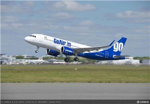 GoAir Takes Delivery of its 1st of 72 A320neo Aircraft