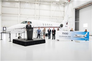NetJets' 1st Citation Latitude