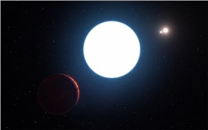 Surprising Planet with 3 Suns