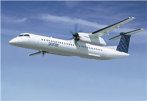 Porter Orders 3 Q400 Turboprops