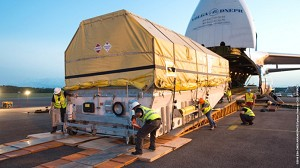 Intelsat 33e Arrives for August Launch