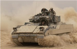 Cubic Support US Army's Bradley Fighting Vehicle Conduct of Fire Trainer