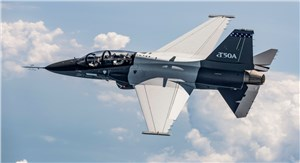 2nd T-50A Aircraft for T-X Competition Takes Flight