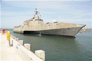 Navy Completes Fire Testing on Replicate LCS