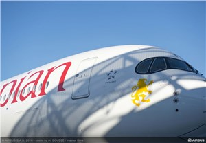2nd New A350 XWB Delivered to Ethiopian Airlines