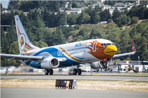 Boeing, Nok Air Humanitarian Aid Flight
