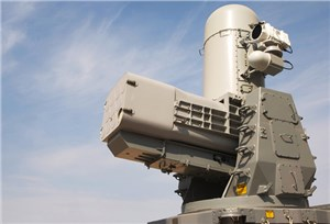 USS Carney live fire test with SeaRAM