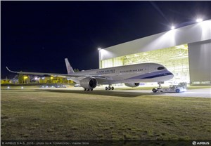 China Airlines' First A350 XWB Ready to Start Ground and Flight Tests