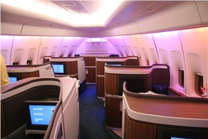 B/E Aerospace Awarded Super First Class Seating Contract