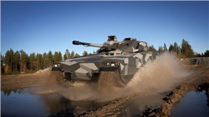 CV90 Infantry Fighting Vehicle Makes Australian Debut