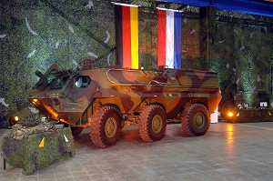 Six FOX NBC reconnaissance vehicles go to the Netherlands - State-of-the-art NBC detection technology from Rheinmetall