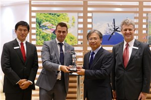 1st Bell 407GXP in Japan Sold to EuroTec