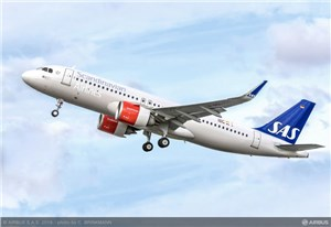 SAS Takes Delivery of its 1st A320neo