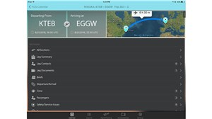 new features to ARINCDirect FOS mobile 3.0 for business aviation operators