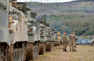 GBP1.1 Bn Investment in Army Facilities
