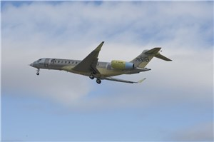 Global 7000 Aircraft Completes 1st Flight