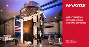 Harris Unfurlable Mesh Reflectors Successfully Deploy on 5th US Navy MUOS Satellite
