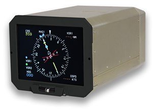 Esterline CMA-6800 Display Solution Granted STC for Installation on Dash-8 Aircraft