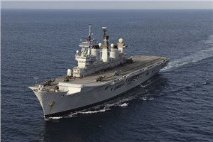 Illustrious leaves Portsmouth to make way for Queen Elizabeth