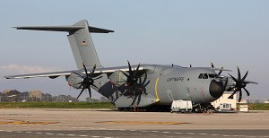 1st Tactical Standard Airbus A400M Airlifter for Germany
