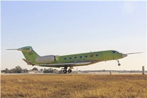 Gulfstream G600 Takes Flight