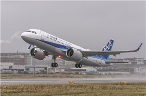 A320neo Delivered to ANA