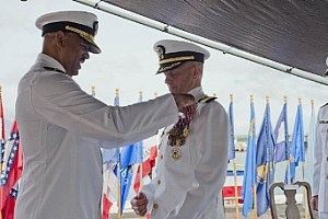 Commander, Destroyer Squadron 31 Holds Change of Command