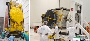 SKY Brasil-1 and Telkom-3S are readied for initial Ariane 5 mission in 2017