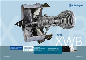 Triumph Awarded Contract for Trent XWB Engine Components