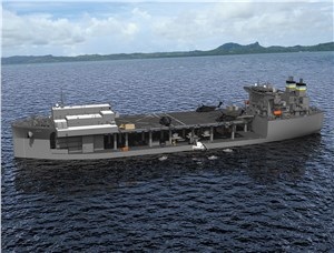 GD NASSCO Begins Construction on 5th Ship in ESB Program for US Navy