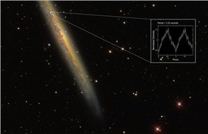 Brightest, Furthest Pulsar in the Universe