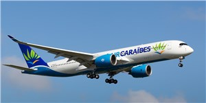 1st of 3 New Airbus A350 XWB Delivered to Air Caraibes