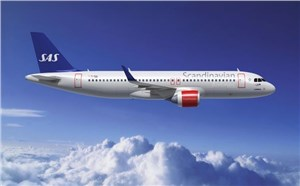 CDB Aviation Delivers 1 Airbus A320-200neo to SAS
