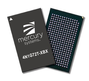 Mercury Announces Defense Industry's 1st DDR4 High Density Secure Memory Device